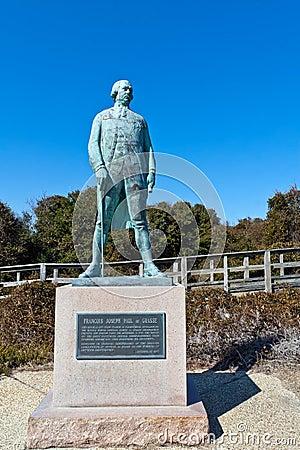 Admiral Comte de Grasse Statue