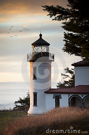 Free Admiralty Head Lighthouse Stock Images - 49278284
