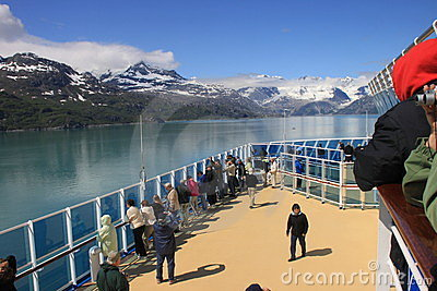 Admiring Glacier Bay Editorial Photo