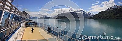 Admiring Glacier Bay Editorial Image