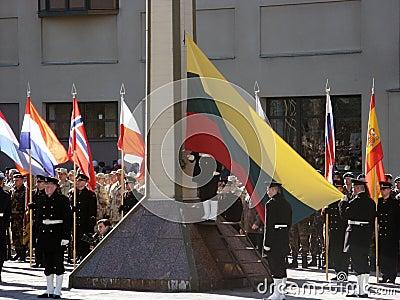 Admission into NATO Editorial Stock Photo