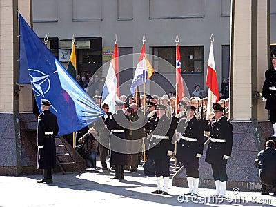 Admission into NATO Editorial Image