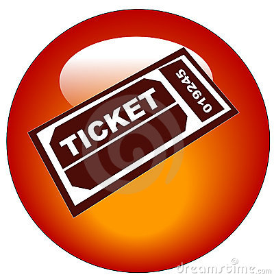 Admission ticket icon
