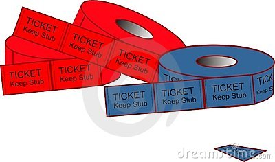 Admission Ticket Illustrations