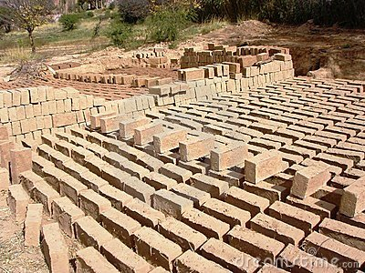 Adobe bricks sustainable building materials 3 stock for Adobe home construction