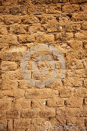Free Adobe Wall Detail Royalty Free Stock Images - 35282529