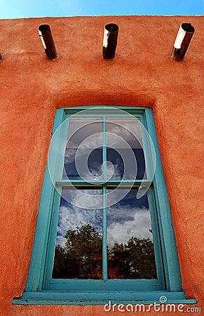 Adobe with Window