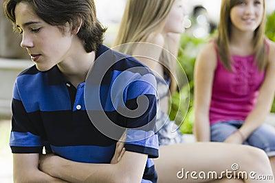 Adolescente rechazado