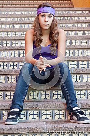 Adolescente resistente