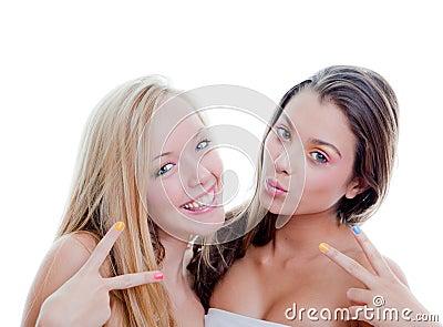 Adolescentes do sinal V