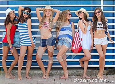 Adolescentes do verão