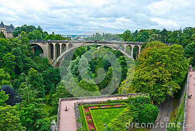 Adolphe Bridge, Luxembourg