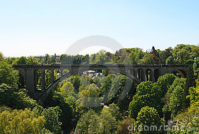 Adolphe bridge, Luxembourg city, Luxembourg