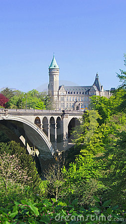 γέφυρα του Adolphe pont