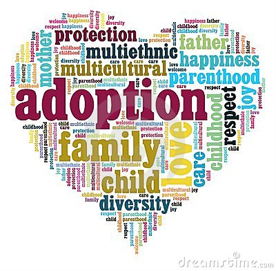 Adoption Heart Royalty Free Stock Photo - Image: 22166905