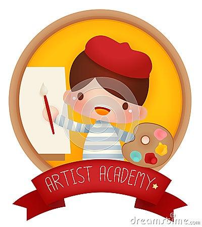 Free Adorable Artist Banner Stock Photos - 51433063