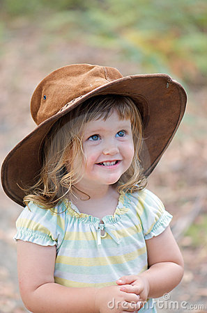 Adorable aussie toddler