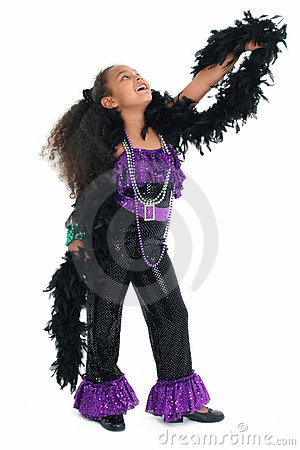 Free Adorable Child Dance Diva Stock Photography - 19528602