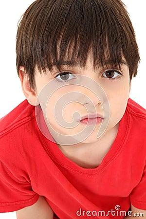 Adorable Close-up Boy