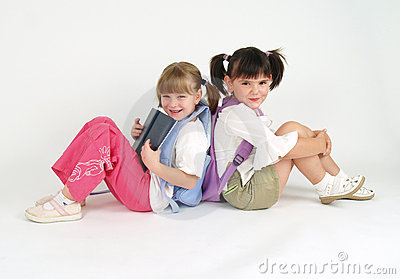 Adorable schoolg girls