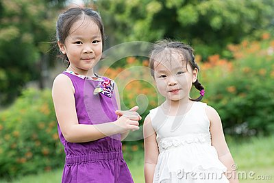 Adorable sister
