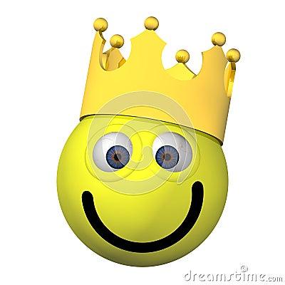 Adorable Smiley King