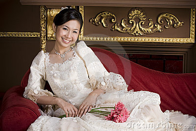 Adorable sweet asian bride 1