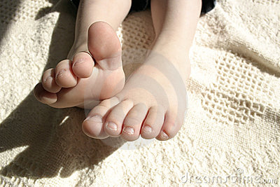 Adorable toes