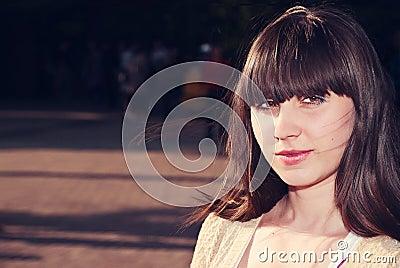 Adorable woman