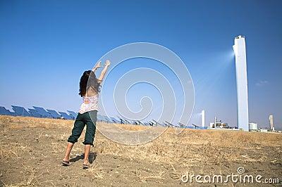 Adore solar power tower
