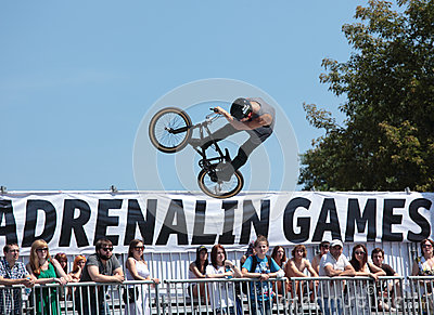 Adrenalin Games in Moscow, Russia, Editorial Stock Photo