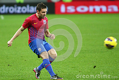 FC Steaua Bucharest- FC Gaz Metan Medias Editorial Photo
