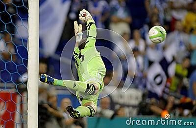 Adrian San Miguel of West Ham United Editorial Image