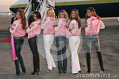 Adriana Lima, Alessandra Ambrosio, Bob Hope, Gisele, Gisele Bundchen, Izabel Goulart, Karolina Kurkova, Selita Ebanks, Victoria s  Editorial Image