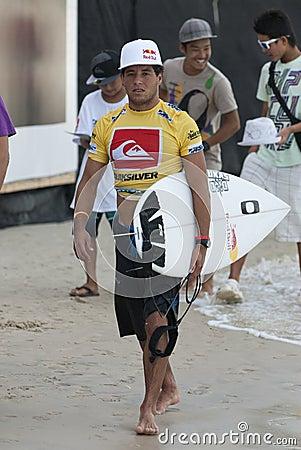 Adriano De Souza - Quicksilver Pro Editorial Stock Image