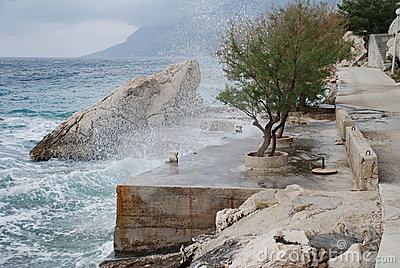 Adriatic coastline, Croatia