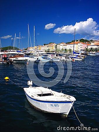 Free Adriatic Sea Boat Stock Photo - 9073880