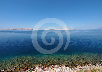 Adriatic Sea of Croatia