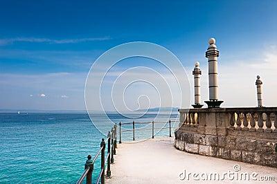 Adriatic Sea scenic view