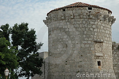Adriatic stone tower