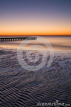 Adriatic sunrise - Lido de Jesolo, Italy