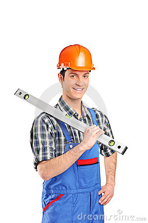 Adult constructor worker