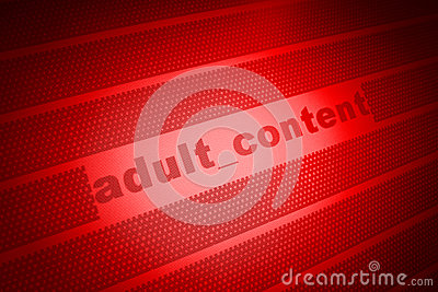 Adult content background