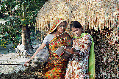 Adult Education in rural India Editorial Image