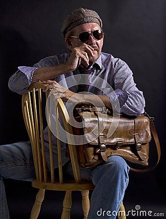 Adult male creative designer artist