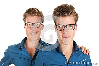 Adult male twins