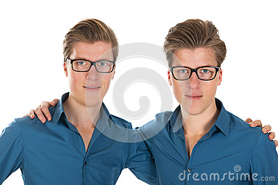 Adult male twins