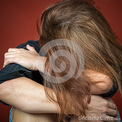 abuse affect adult crying