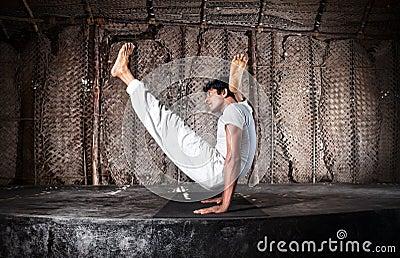 Advance Yoga pose