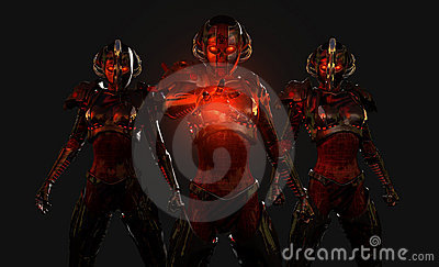 Advanced cyborg soldiers